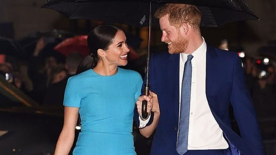 Prince Harry And Meghan Markle Look Happier Than Ever Upon Arriving In The UK