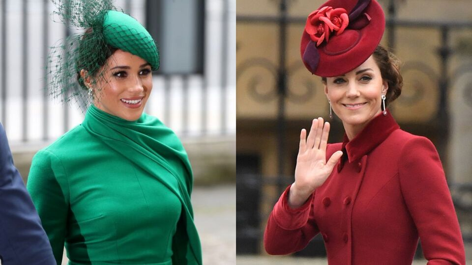 Everything Kate And Meghan Wore To The Commonwealth Day Service