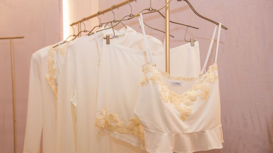 An Exclusive Look Into BAZAAR's Styling Session With La Perla At Dubai Mall