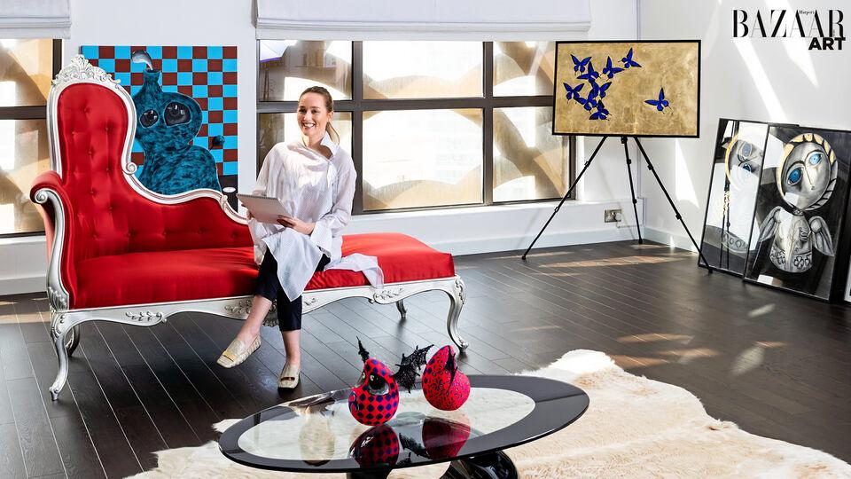 We Step Inside Artist Alena Vavilina's Dreamlike Dubai Studio