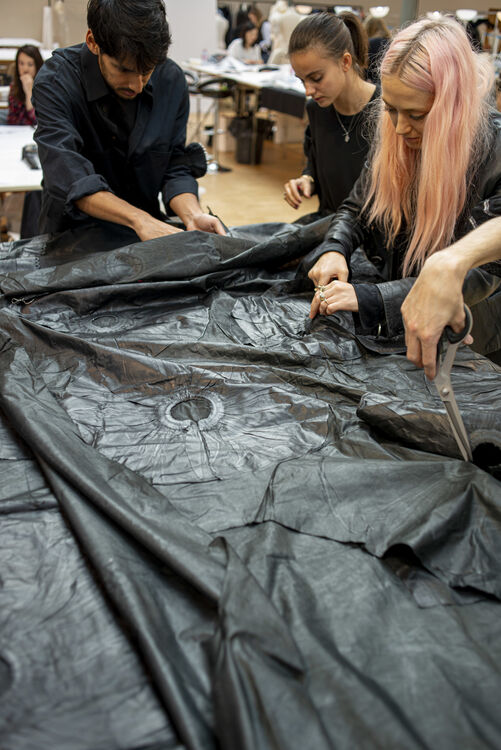 Into The Craft: How Alexander McQueen Turned Linen Into Leather