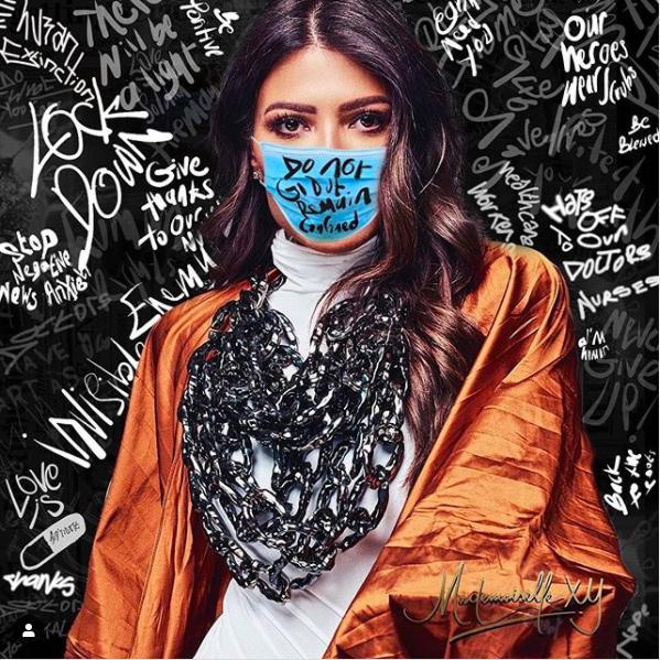 Introducing Thread4cause Uae Designers Make Masks For Healthcare Workers Harper S Bazaar Arabia