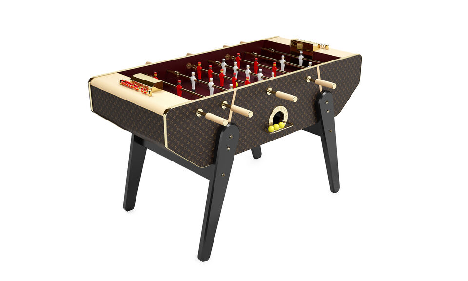 Louis Vuitton Has Put A Very Elegant Spin On Foosball