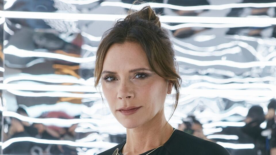 Victoria Beckham Was Caught Smiling On Camera By Her Son, Cruz