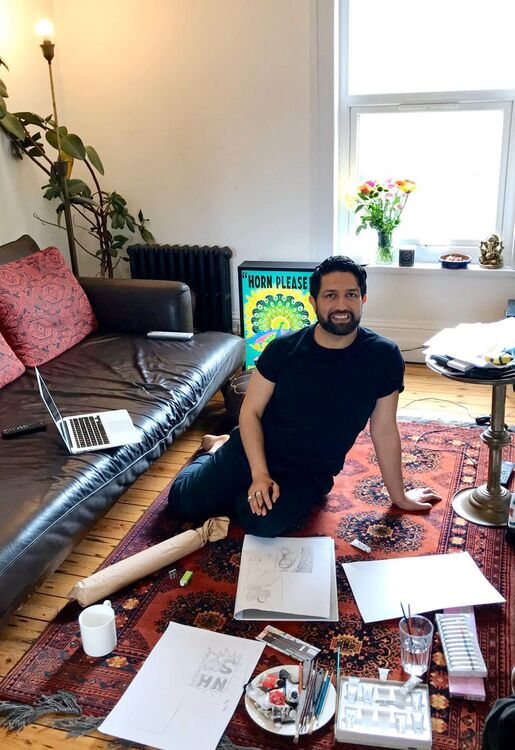 Osman Yousefzada On Reflection and Creativity When Working From Home