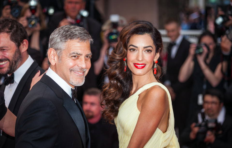 Amal and George Clooney Have Donated Half A Million Dollars In The Fight Against Racial Inequality