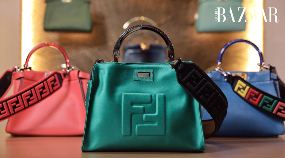 You Can Now Customize Your Own Fendi Mini Peekaboo