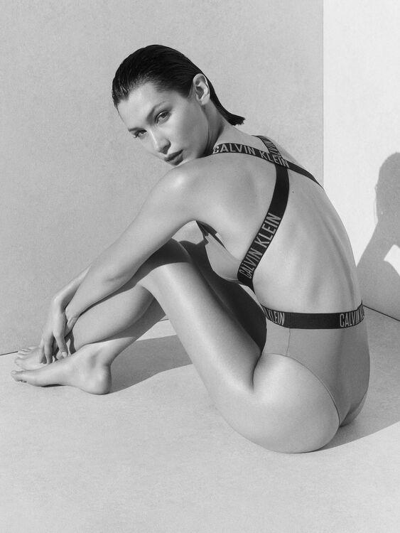 Bella Hadid Stars In Calvin Klein Swim's Latest Campaign