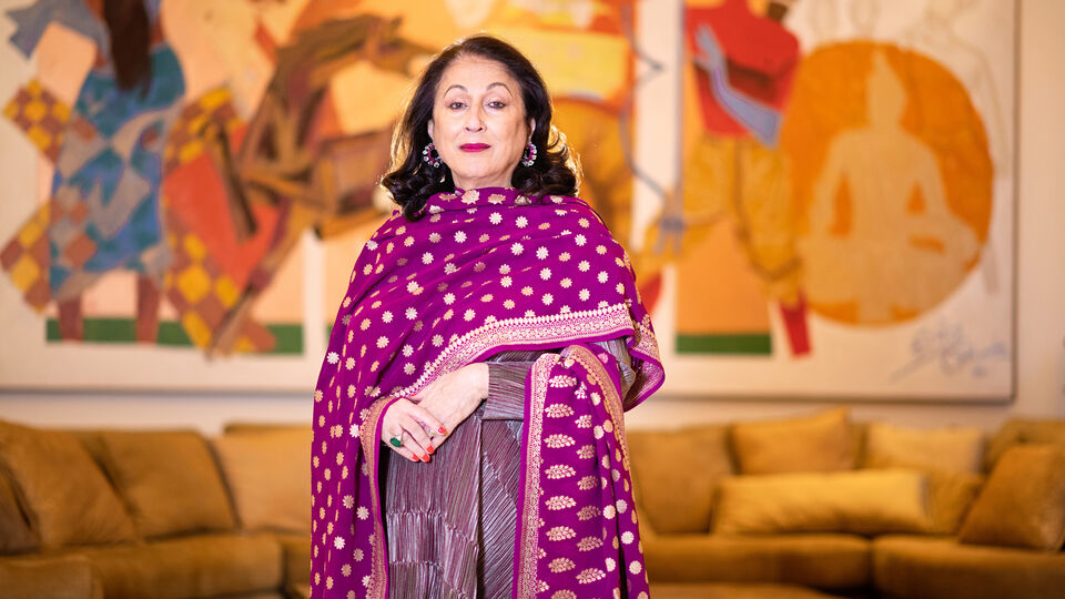 Indian Philanthropist And Art Collector Kiran Nadar Discusses Her Artistic Journey Throughout The Past Decade