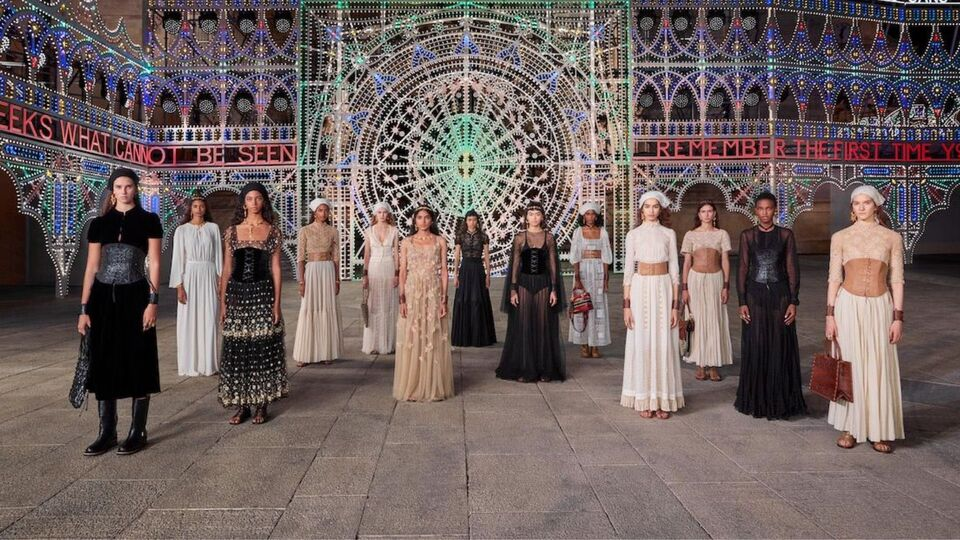 Hope, Optimism and A Celebration Of Local Talent Rang True Throughout Dior's Resort 2021 Presentation
