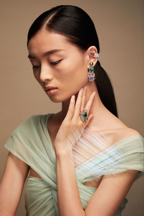 When Dior Joaillerie Met The Colourful World of Tie-Dye...