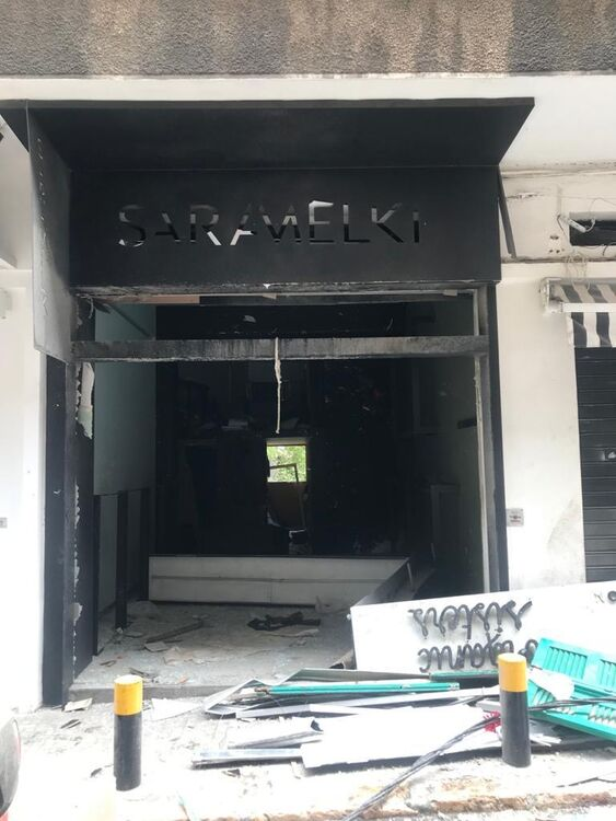 Before and After: Lebanon's Fashion Community Hit Hard By Beirut Blast