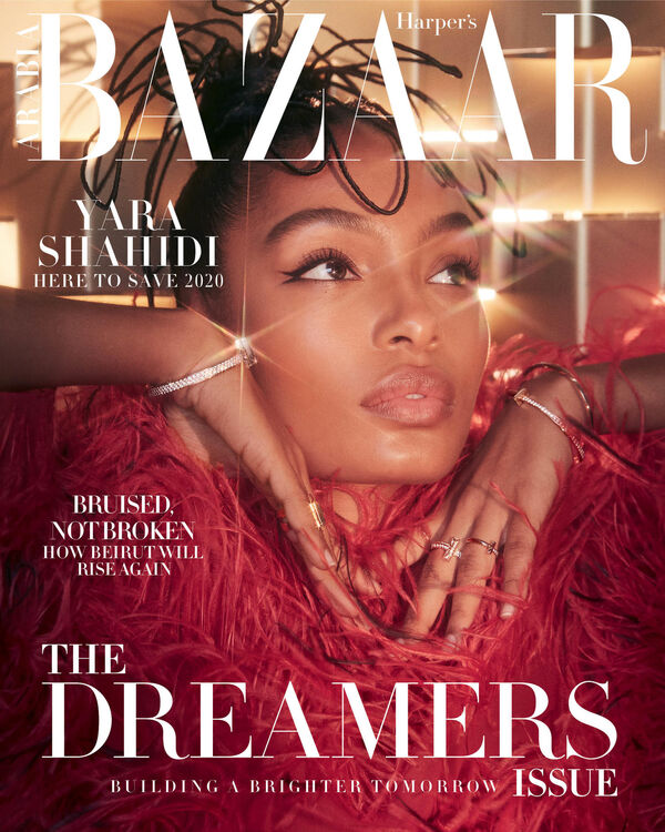 In Pictures: Yara Shahidi Dazzles In 'The Dreamers' Issue