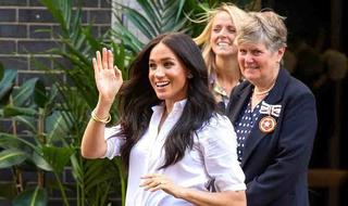 """The Duchess of Sussex Calls Confidence The """"Best Accessory"""" In Smart Works Video Call"""