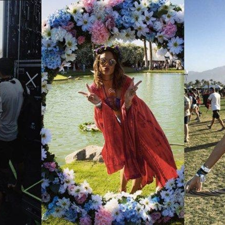 The Best Celebrity Instagrams From #Coachella2016