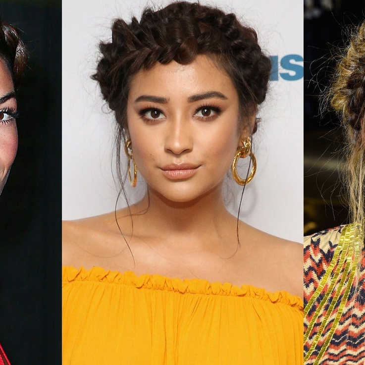 15 Of The Best Celebrity Crown Braids