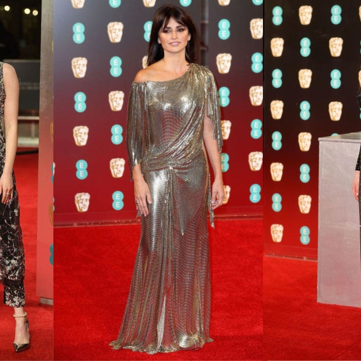 The Best Dressed At The 2017 BAFTA'S