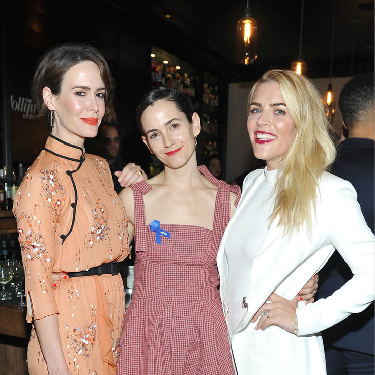 Sarah Paulson, Dakota Johnson, Nicole Richie & More Toast Their Power Stylists