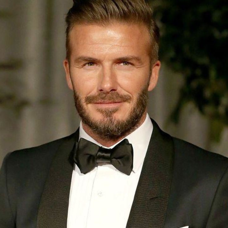 David Beckham Doesn't Look Like This Anymore