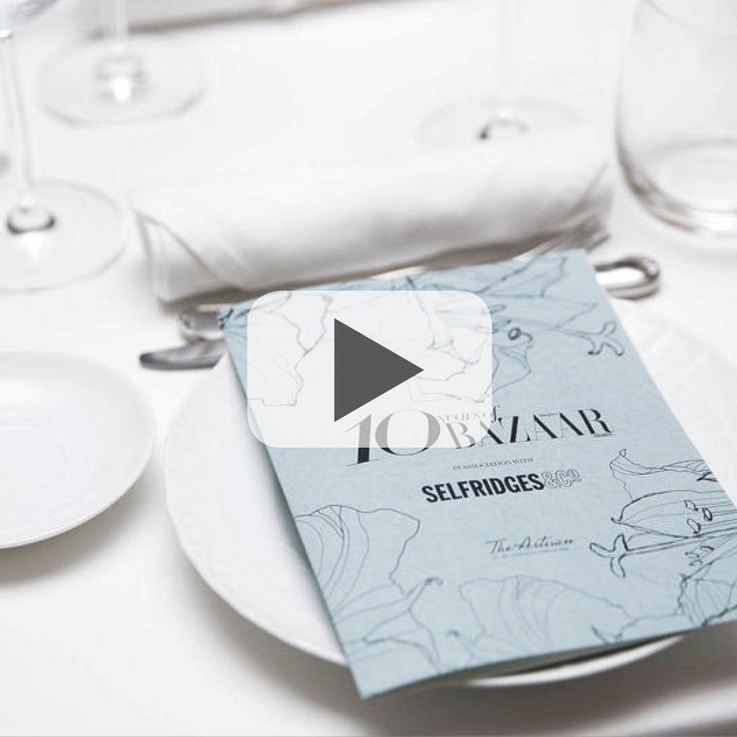Watch Now: Celebrating 10 Years Of Harper's Bazaar Arabia In Association With Selfridges & Co.