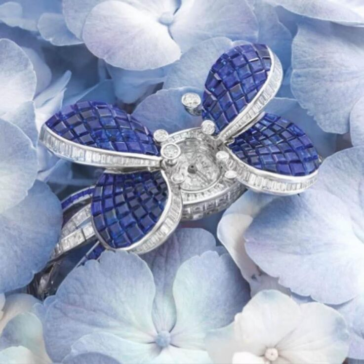 Celebrate Summer With Graff's Latest Princess Butterfly Secret Watch