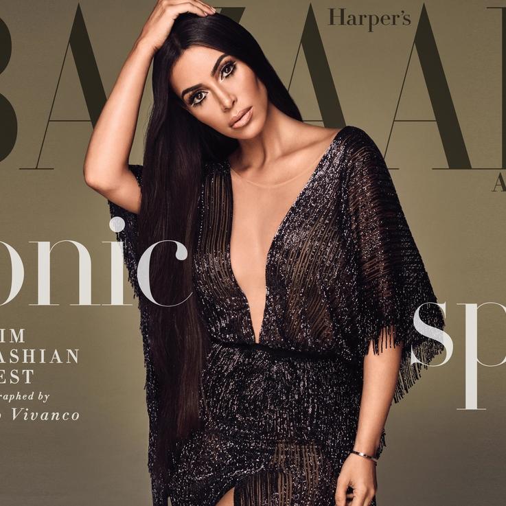 Revealed: Bazaar's September Cover Star Kim Kardashian West