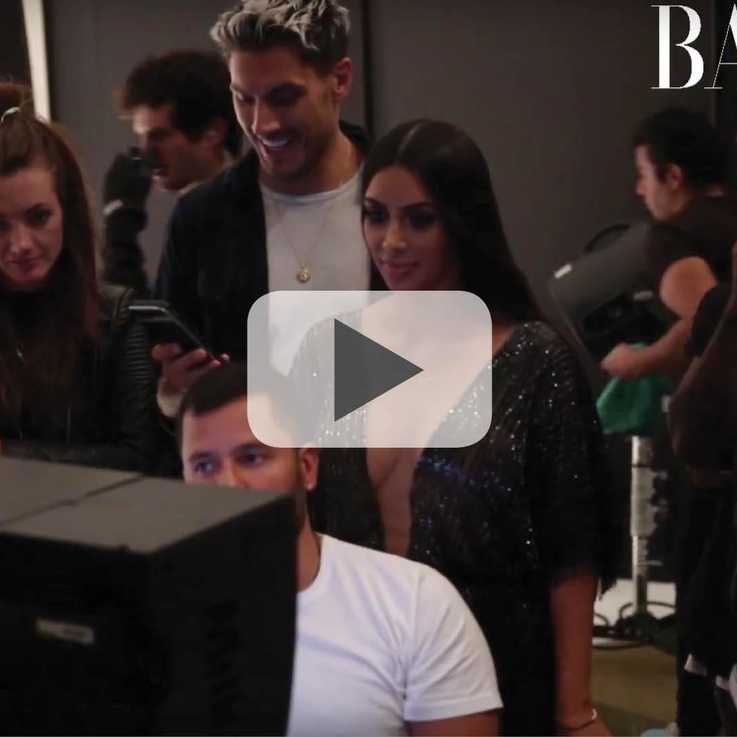 Watch The Behind-The-Scenes Video With Cover Star Kim Kardashian West Here