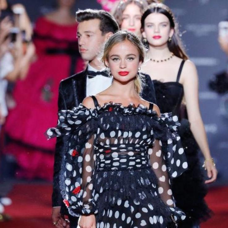 Dolce & Gabbana Hosts A Catwalk Show For Millennials