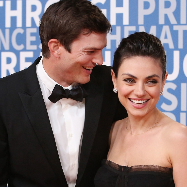 Ashton Kutcher And Mila Kunis Make Their First Red Carpet Appearance Together In 17 Years
