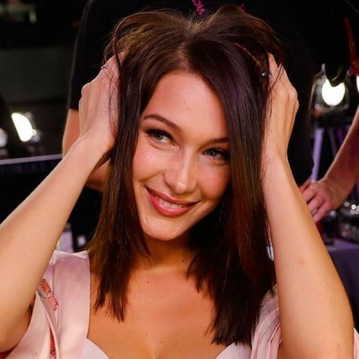 Bella Hadid Just Debuted The Longest Hair At Men's Fashion Week