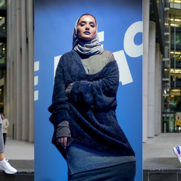 Nike Photographs Emirati Influencer Mthayel Al Ali In The Nike Epic React Flynit