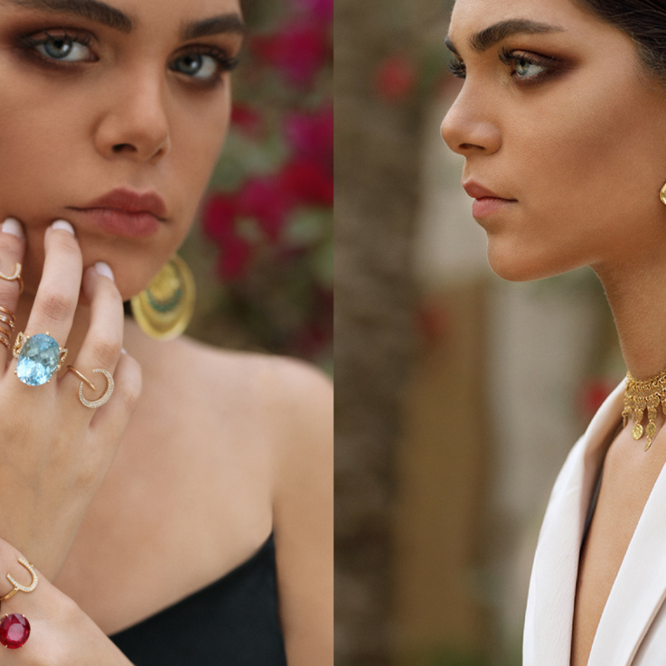 Dive Into The Pharaoh's Jewellery Box With This Colorful Collection Inspired By The Middle East