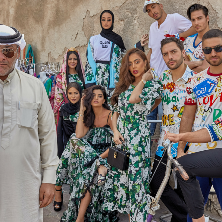 Dolce & Gabbana Collaborates With Regional Influencers For A Shoot In Bur Dubai