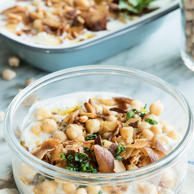 #DaliasKitchen  A Homemade Fatteh'd Hummus