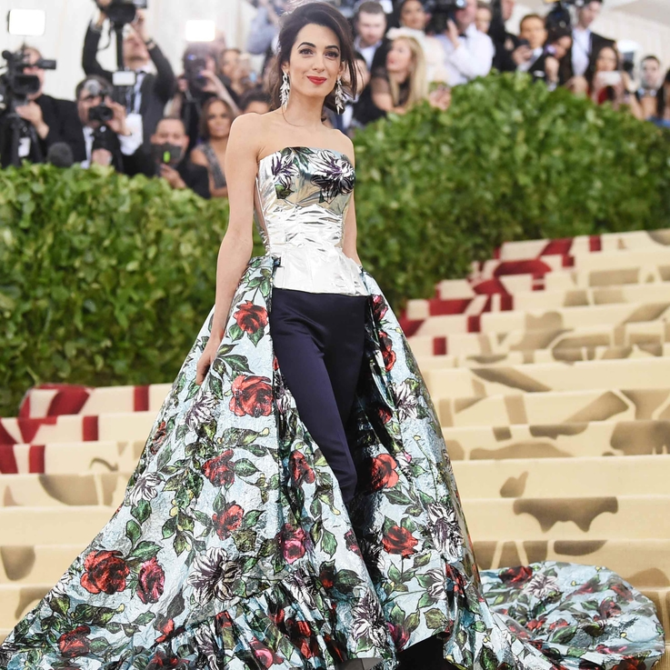 Amal Clooney's Met Gala Gown From Every Angle