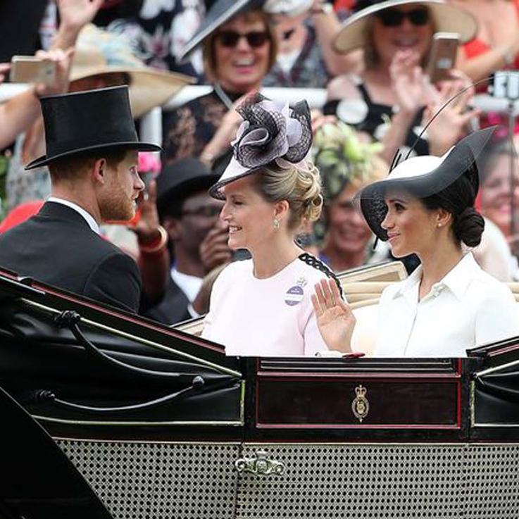 Meghan Makes Her Royal Ascot Debut
