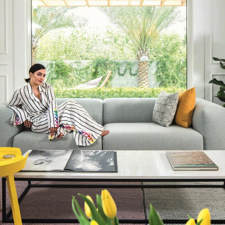 Inside Karen Wazen Bakhazi's Dubai Home
