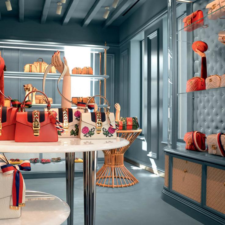 Greek Chic: Visit Gucci's Pop-Up Shop In Mykonos