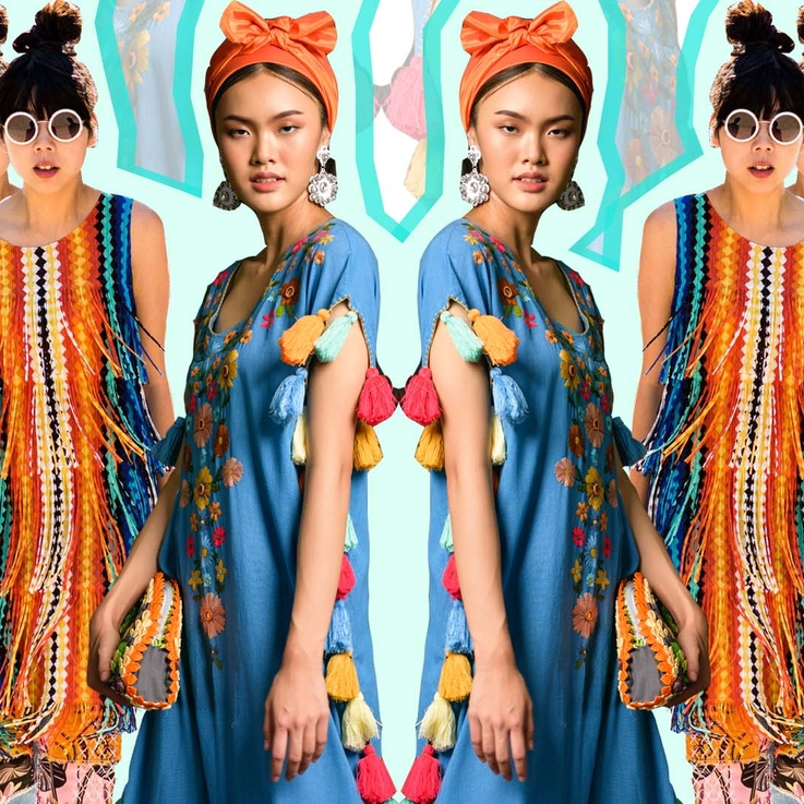 #Trending: Woven Fabrics & Bold Embroidery