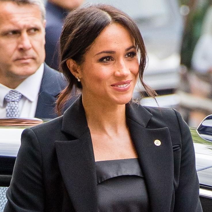 The Duchess Of Sussex Wore A Black Tuxedo For An Award Ceremony In London