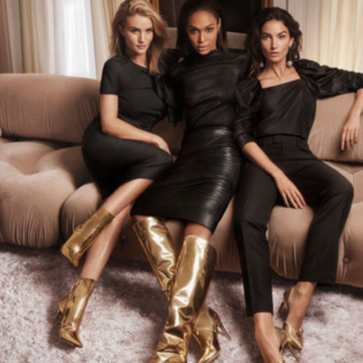 A Squad of Top Models Front Jimmy Choo's New Campaign