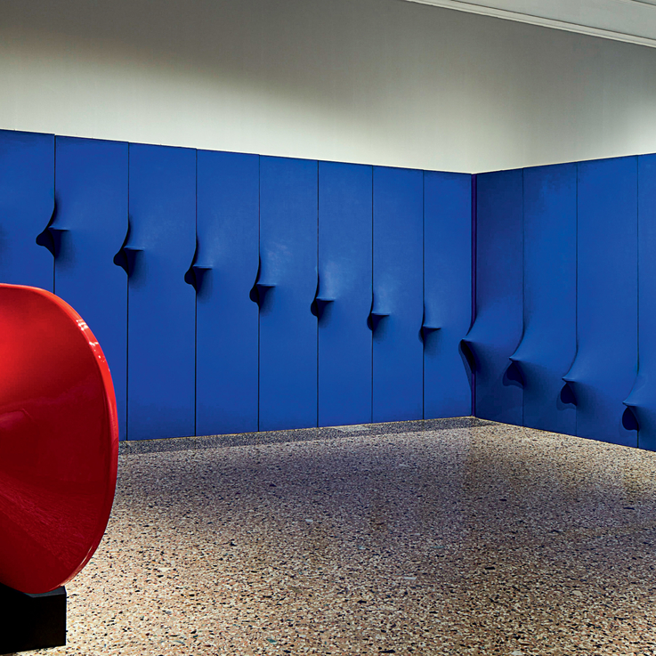 Italian Artist Agostino Bonalumi's Manipulative Canvases Unveiled