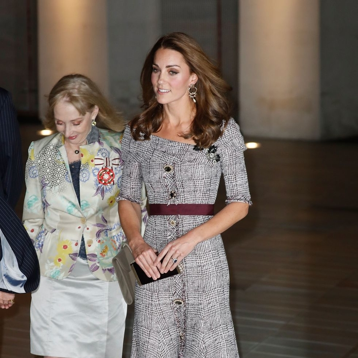 The Duchess Of Cambridge Just Wore One Of Autumn's Biggest Trends