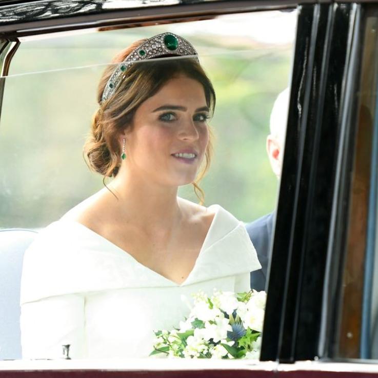 Princess Eugenie Wore This Tiara On Her Wedding Day