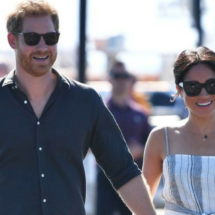 Meghan Markle Cradling Her Baby Bump Is The Sweetest Thing You'll See All Day