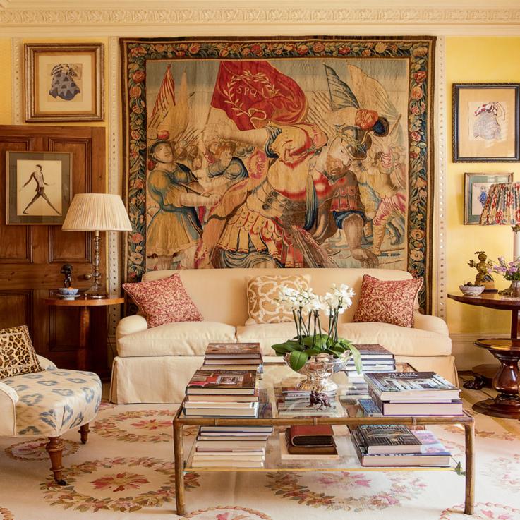 At Home With Alidad: The Iranian-British Interior Design Legend