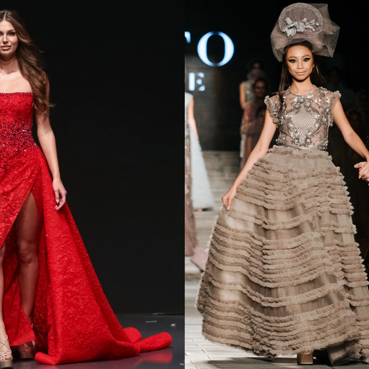 Watch   Fashion News: Celebrities Take To The Runway At Arab Fashion Week