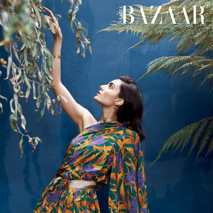 December Cover: Inside The Bicultural World Of Saudi-British Actor Aiysha Hart