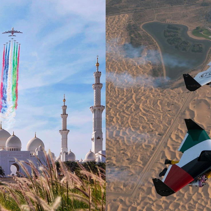 21 Of The Most Incredible Instagrams From UAE National Day