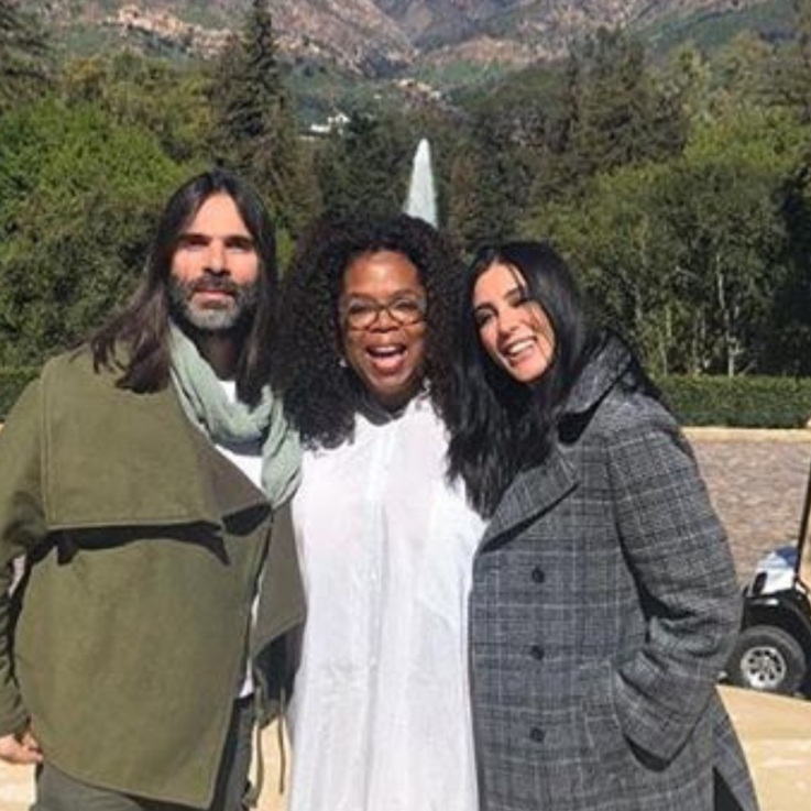 Oprah Casually Invited Nadine Labaki Over For Lunch